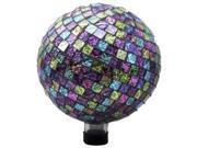Embossed Glass Gazing Globe