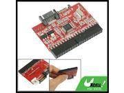2 in 1 IDE to SATA/ SATA to IDE Converter Adapter Red