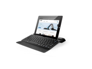 Anker® Synthetic Leather Bluetooth Keyboard Case with Foldable Front Cover and Built-in Groove Stand for iOS and Android
