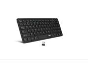 Anker® Ultra-Slim 2.4G Wireless Mini Keyboard for Windows 8, 7, Vista, XP (Black)