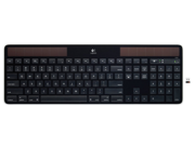 Logitech Wireless Solar Keyboard K750(920-003471) for Mac-Black