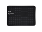 WD My Passport Ultra 1TB Portable External Hard Drive USB 3.0 with Auto and Cloud Backup - Black (WDBZFP0010BBK-NESN)