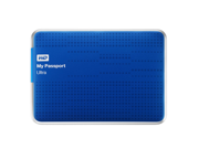 WD My Passport Ultra 2TB Portable External Hard Drive USB 3.0 with Auto and Cloud Backup - Blue (WDBMWV0020BBL-NESN)