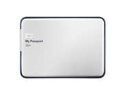 WD My Passport Slim 2TB Portable Metal External Hard Drive USB 3.0 with Auto and Cloud Backup (WDBPDZ0020BAL-NESN)