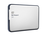 WD My Passport Slim 1TB Portable Metal External Hard Drive USB 3.0 with Auto and Cloud Backup (WDBGMT0010BAL-NESN)