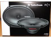 "Rockford Fosgate R168X2 110 Watt 6"" x 8"" 2-Way Coaxial Car Audio Speakers 6""x8"""