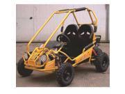 TrailMaster 163cc XRX Mini GoKart-Yellow