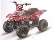 Tao Tao 110cc Boulder ATV - Red/White