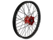 Talon 56-3158Rb Wheel 1.60X14 Red Hub Blk Rim
