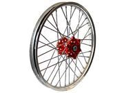 Talon 56-3153Rs Wheel 2.15X18 Red Hub Sil Rim
