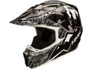 Fly 73-4901X F2 Carbon Pro HMK Wilderness Helmet Black/Charcoal X