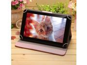"""IRULU 9"""" Quad Core Tablet with pink Leather Case Cover ,Android KitKat 4.4 OS, 1G RAM/8G ROM with Dual Camera Bluetooth Google Play Pre-installed 1024x600 HD Display 5 Point Multi Touchscreen - Black"""