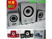Ofnote 2.1 diaphragm speakers Multimedia speakers Sound Voice subwoofer USB  for PC Computer Laptop Notebook