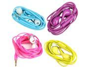 3.5mm Headset Headphone Earphone for Samsung S4 i9500 w/ MIC Volume Control