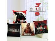 Godzilla ikea thick pounds of cotton and linen pillow cushion cover car pillows undertakes 2014 Godzilla