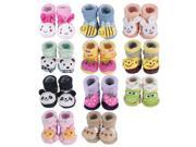 Cute Baby Unisex Indoor Anti-slip Warm Socks Newborn Animal Cartoon Shoes Boots