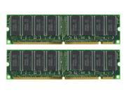 2GB (2X1GB) MEMORY 128X72 168 PIN PC133 6NS 3.3V ECC REG SDRAM RAM DIMM New