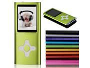 "New 8GB Slim Mp3 Mp4 Player With 1.8"" LCD Screen, FM Radio, Video, Games & Movie --green"
