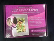 New Reflections LED Photo Mirror - Self Standing Mirror & Photo Frame 10 LEDs