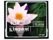wholesale 5*Kingston 4GB  Compact Flash (CF) Flash Card Model CF
