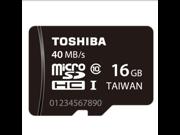 Genuine TOSHIBA 16GB MicroSDHC Card Class 10 C10 40MB/s, High Speed TF Card 16G