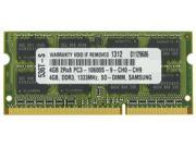 4GB PC3-10600 1333MHz MEMORY FOR HP ELITEBOOK 2740P