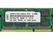 4GB PC3-8500 1066MHz MEMORY FOR LENOVO THINKPAD R400