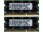 16GB (2X8GB) DDR3 MEMORY PC3-12800 1600MHz 204PIN SO DIMM
