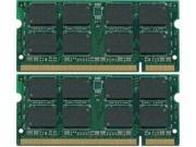 4GB (2X2GB) DDR2-667MHz PC2-5300  Unbuffered Non-ecc 200-Pin DDR2 SODIMM MEMORY for Laptop Computers  MEMORY FOR DELL LATITUDE D531N