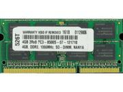 4GB PC3-8500 1066MHz MEMORY FOR DELL VOSTRO 3300 3400 3500 V13  Shipping From US