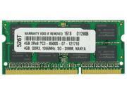 4GB MEMORY PC3-8500 1066MHz MEMORY FOR LENOVO THINKPAD 2243
