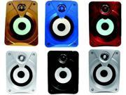 USB  Bacifire  2.0 multimedia speakers  PC/MP3/MP4/Mobile  Blue,Red,White,Bronzer,Silver,Black