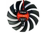 EverCool VC-EC8010M12C VGA Video Card Cooling Fan 12v 80x80x10mm 2/3 pin screws
