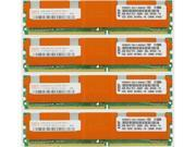 8GB KIT (4X2GB)  PC2-5300 667MHz  DDR2 ECC Fully Buffered  240-Pin RAM MEMORY For PowerEdge 2900