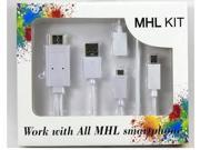 Multi Use Micro USB MHL to HDMI HDTV Adapter Cable for Samsung Galaxy S2 S3 S4 S5 Note 3 III HTC LG