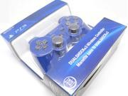 New Bluetooth Wireless Dual Shock 3 Six Axis Game Controller for Sony PS3 Blue
