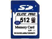 512MB SD Secure Digital Memory Card GENUINE Chips 512 MB OEM CARD NEW