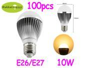 100XLighting 10 Watts E27 LED bulb lamp light AC110V Warm White A19 no dimmable CE&RoHS approved