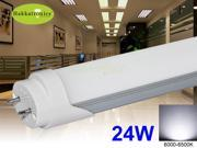 10 PIECES T8 24W LED TUBE G13 COOL WHITE 24W=56WCFL REPLACEMENT AC120V 2 YEARS WARRANTY