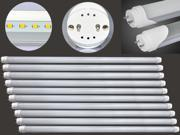 10 PIECES T8 LED TUBE 24W 1.5m G13 COOL WHITE 56WATTS CFL REPLACEMENT AC120V 2 YEARS WARRANTY
