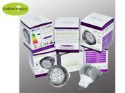 10X Hakkatronics Lighting MR16 12V 6W 3X2W LED Flood Reflector Lighting Spotlight Bulbs 12 Volt Cool White 6000K - 6500K 35 Watt Lamp Equal