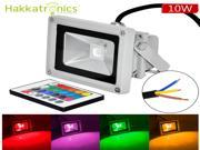 8pcs Remote Control 10W RGB Waterproof IP65 LED flood lights,16 different Color tones Outdoor lighting lamps,