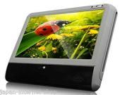 EONON Brand New L0279  9 Inch Digital Touch Screen Slimmest Attached Headrest DVD player (Grey Color)