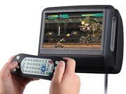 EONON Brand New L0278 9 Inch Digital Touch Screen  Detachable Headrest DVD player (Black color)