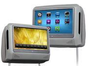 EONON Brand New L0276 9 Inch Digital Touch Screen  Detachable Headrest DVD player(Grey Color)