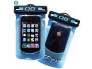Waterproof  Small Phone Case - Aqua
