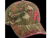 Ladies Remington Pink R Hat Mossy Oak Infinity