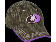 Outdoor Cap Ladies Mossy Oak Breakup Infinity w/Purple Hat