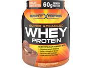 Body Fortress Chocolate Peanut Butter Super Advanced Whey Protein Powder, 1.95 lb