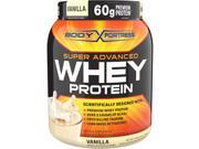 Body Fortress Super Advanced Whey Protein Powder Vanilla 1.95 LB